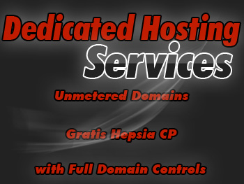 Affordable dedicated web hosting service